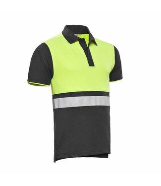 Santino SANTINO Poloshirt Hamburg Graphite / Fluor Yellow