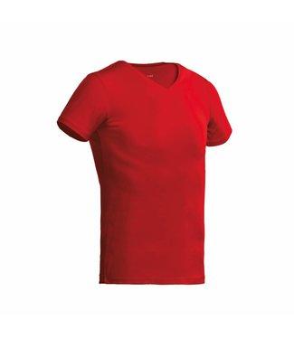 Santino SANTINO T-shirt Jazz V-neck Red