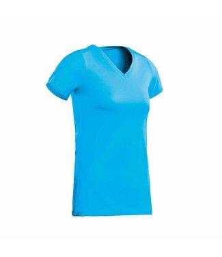 Santino SANTINO T-shirt Jazz ladies V-neck Aqua