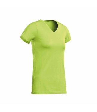 Santino SANTINO T-shirt Jazz ladies V-neck Lime