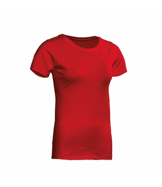 Santino SANTINO T-shirt Jive ladies C-neck Red