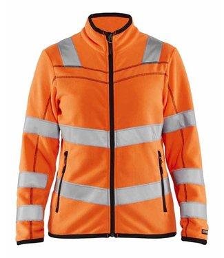 Blaklader Blaklader 4966-1010 Dames Microfleecevest High Vis Oranje