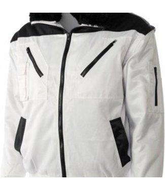 M-Wear M-Wear pilotjack P/K 8382 wit/zwart
