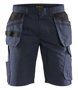 Blaklader Blaklader 14941330 Service short met spijkerzakken Marine/Zwart