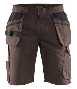 Blaklader Blaklader 14941330 Service short met spijkerzakken Bruin/Zwart
