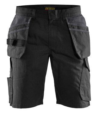 Blaklader Blaklader 14941330 Service short met spijkerzakken Zwart/Donkergrijs