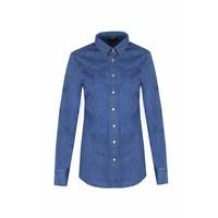 Blouse Denim blue