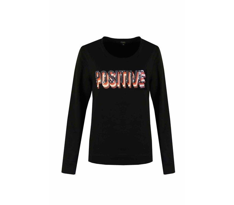 Positive Sweater Zwart