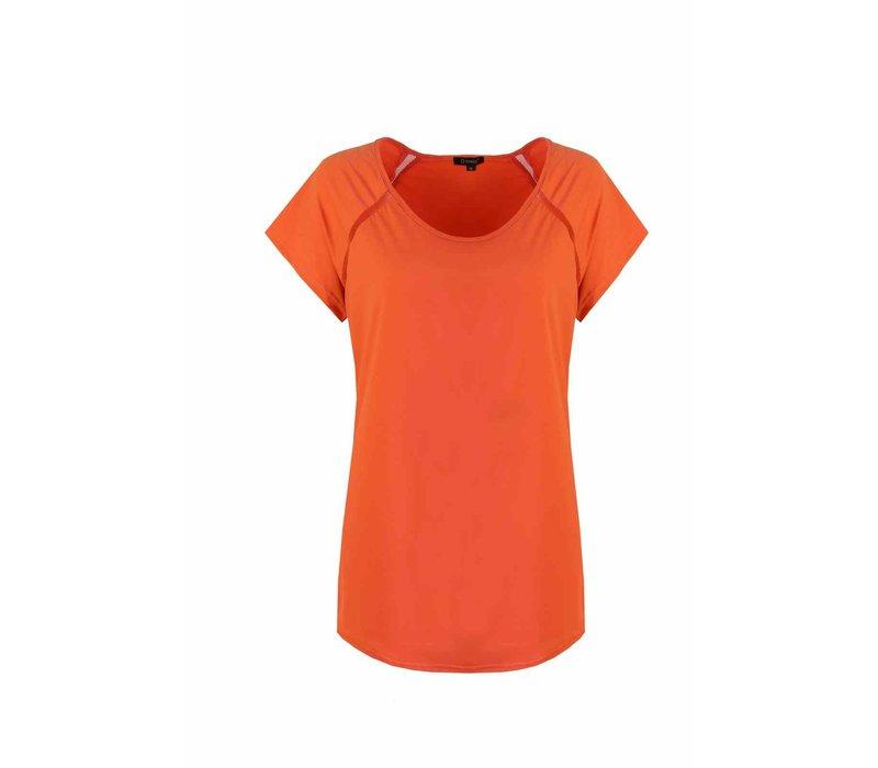 Leah Top Oranje