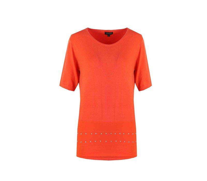Sweater Orange red