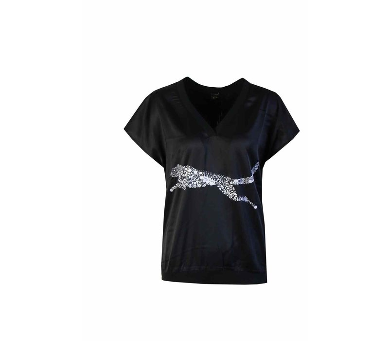 Panter T-shirt Zwart