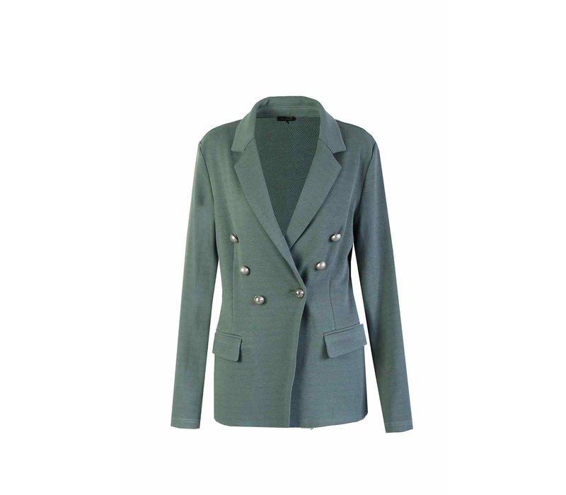 Blazer Grayish green