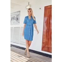 Kleid Denim blue