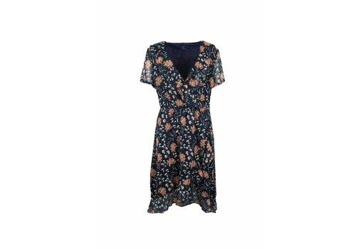 G-maxx Caithlyn Dress Donker Blauw/Mix