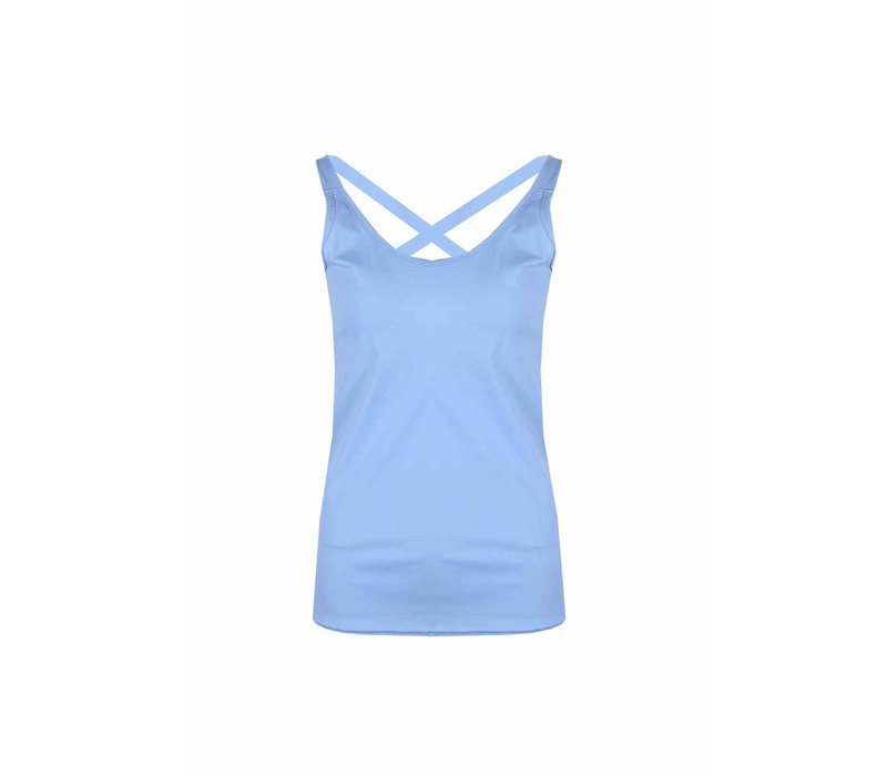 Top Turquoise blue