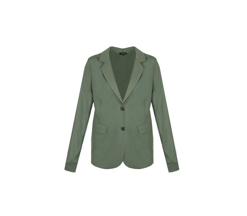 Blazer Middle Grün