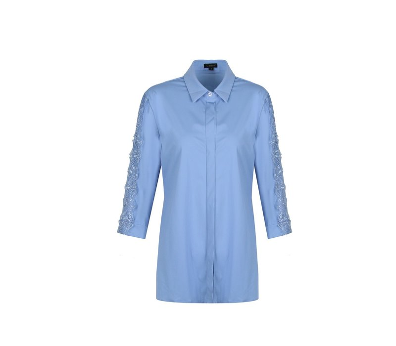 Bluse Turquoise blue