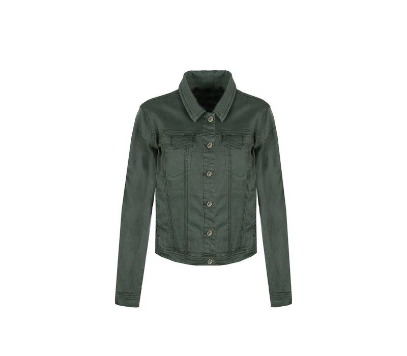 Odile Jacket Gewassen Groen