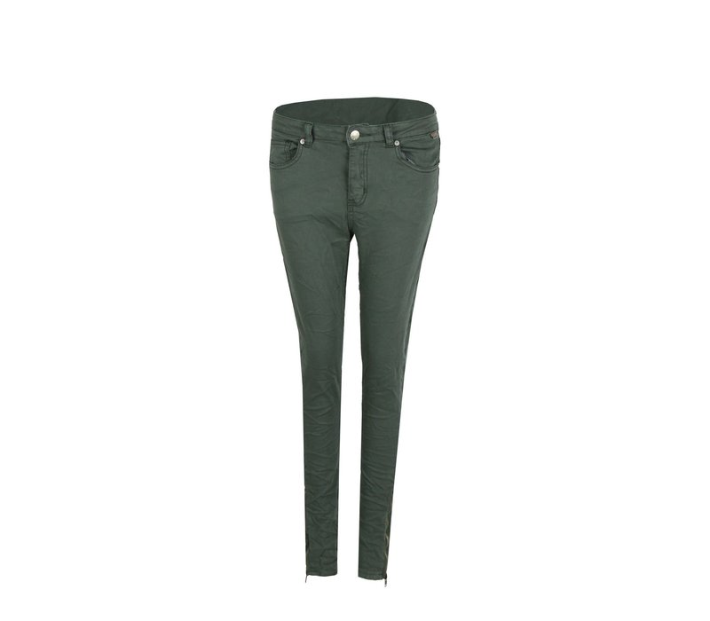Jeans Middle Grün