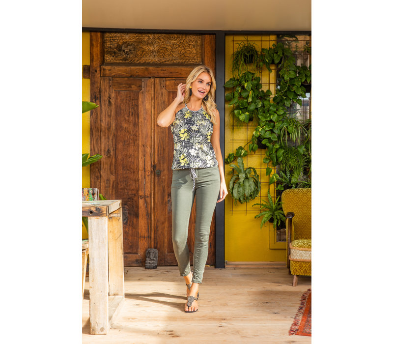 jeans Middle green