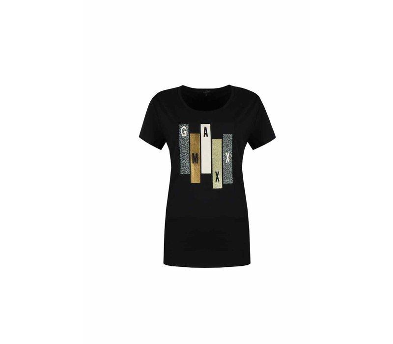 Demi T-Shirt Zwart
