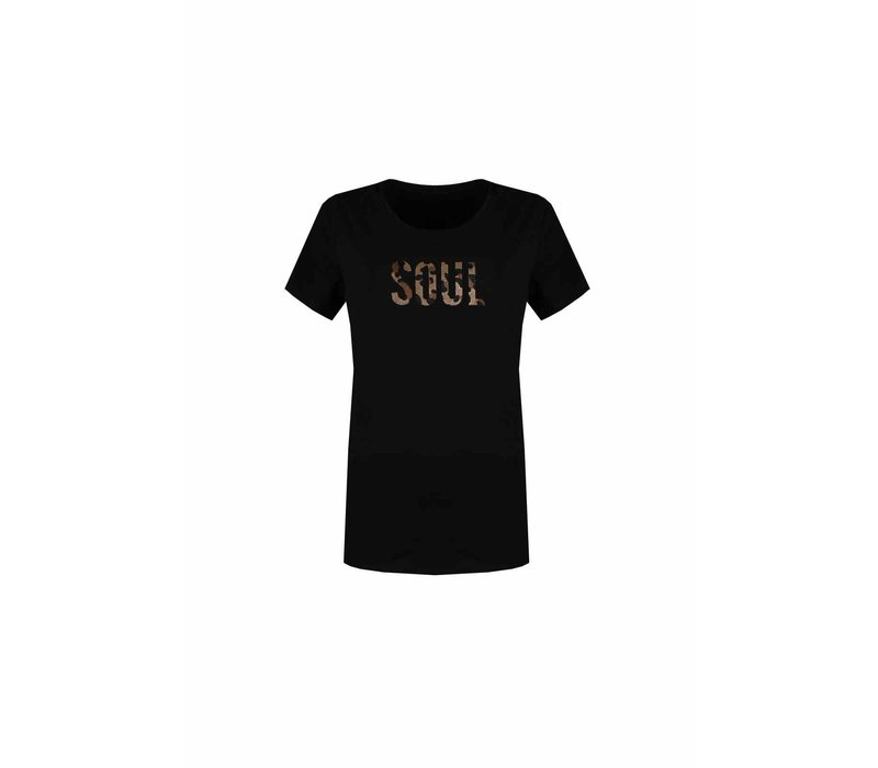 Denise T-Shirt Zwart