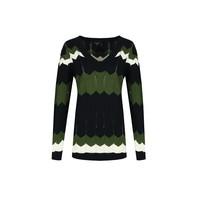 Zwart / Gew Groen