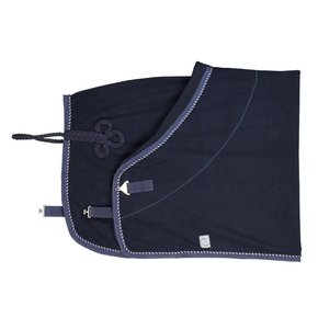 Fleece rug - navy/navy-mix (navy)