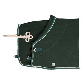 Fleece deken - groen/groen-beige