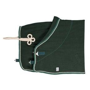 Fleece rug - green/green-beige