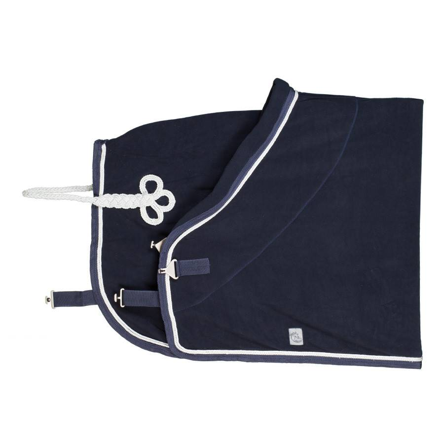 Greenfield Selection Fleece rug - navy/navy-white/silvergrey