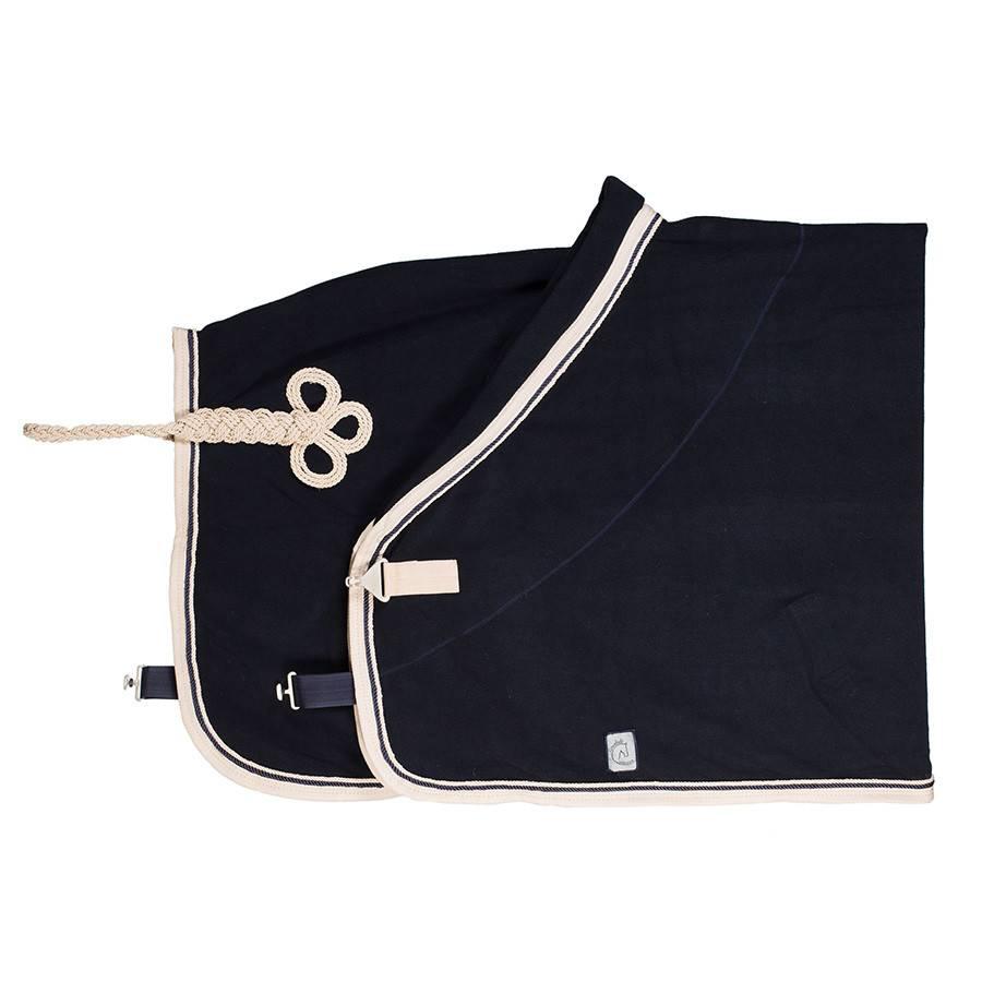 Greenfield Selection C21/2 - Fleece deken - blauw/beige-blauw/beige