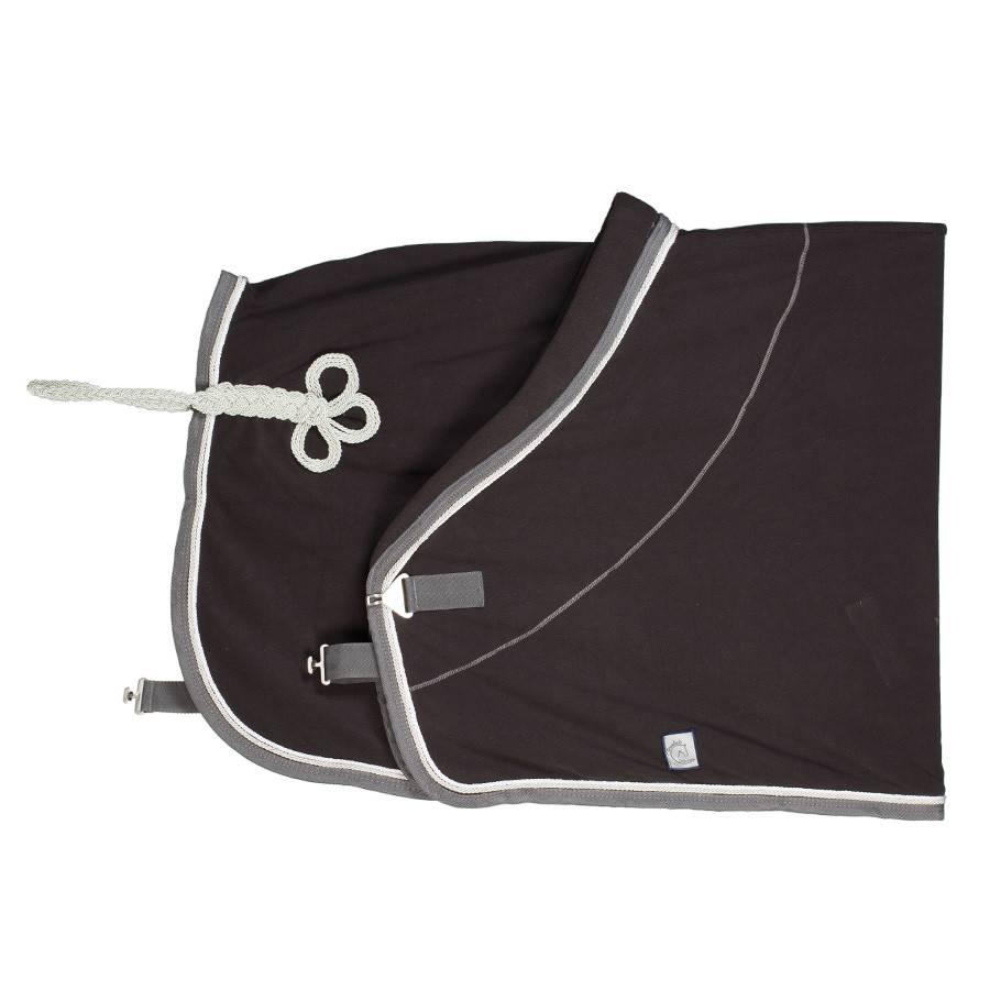 Greenfield Selection Fleece deken - grijs/grijs-wit/zilvergrijs