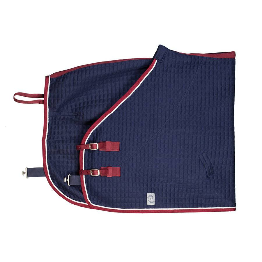 Greenfield Selection Chemise thermo - bleu marine/bordeaux-blanc