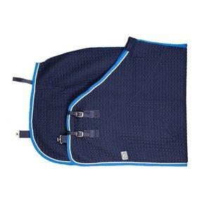 Thermotex deken - blauw/lichtblauw-wit