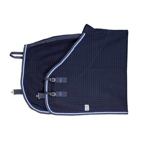 Thermotex deken - blauw/blauw-wit/koningsblauw