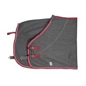 Thermo rug - grey/burgundy-silvergrey/burgundy