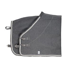 Thermotex deken - grijs/grijs-wit/zilvergrijs