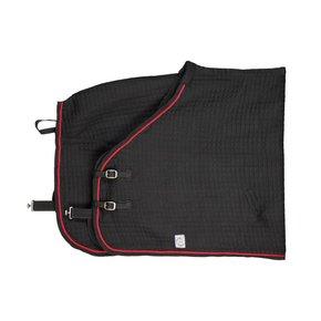 Thermotex deken - zwart/zwart-rood