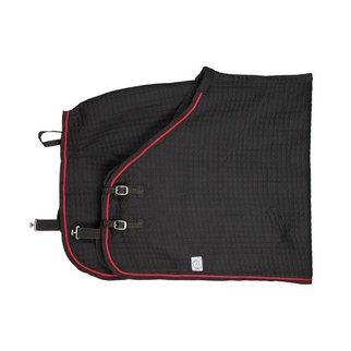 Greenfield Selection Thermotex deken - zwart/zwart-rood