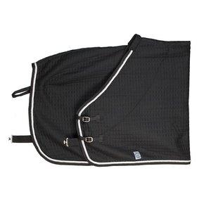 Thermotex deken - zwart/zwart-wit/zilvergrijs