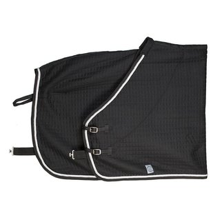 Greenfield Selection Thermotex deken - zwart/zwart-wit/zilvergrijs