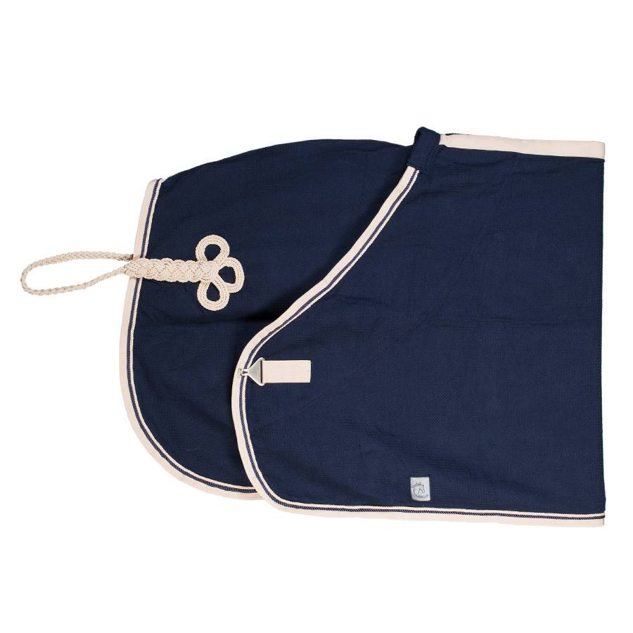Greenfield Selection Honeycomb rug - navy/beige-navy/beige