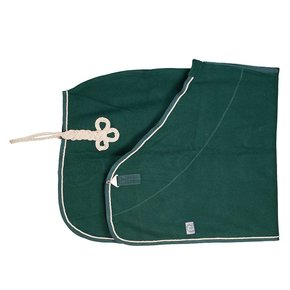 Couverture laine - vert/vert-beige