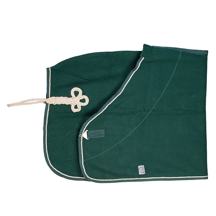 Greenfield Selection Couverture laine - vert/vert-beige