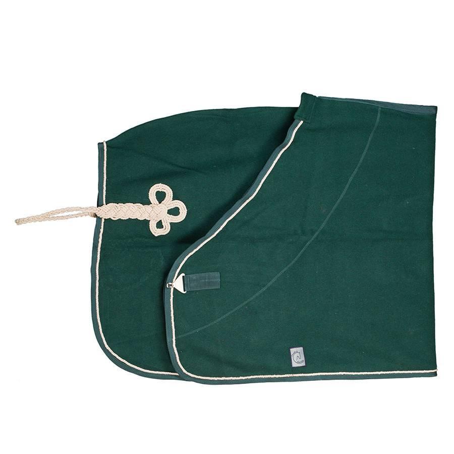 Greenfield Selection Wollen deken - groen/groen-beige