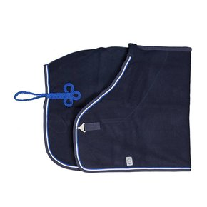 Woolen rug - navy/navy-white/royalblue