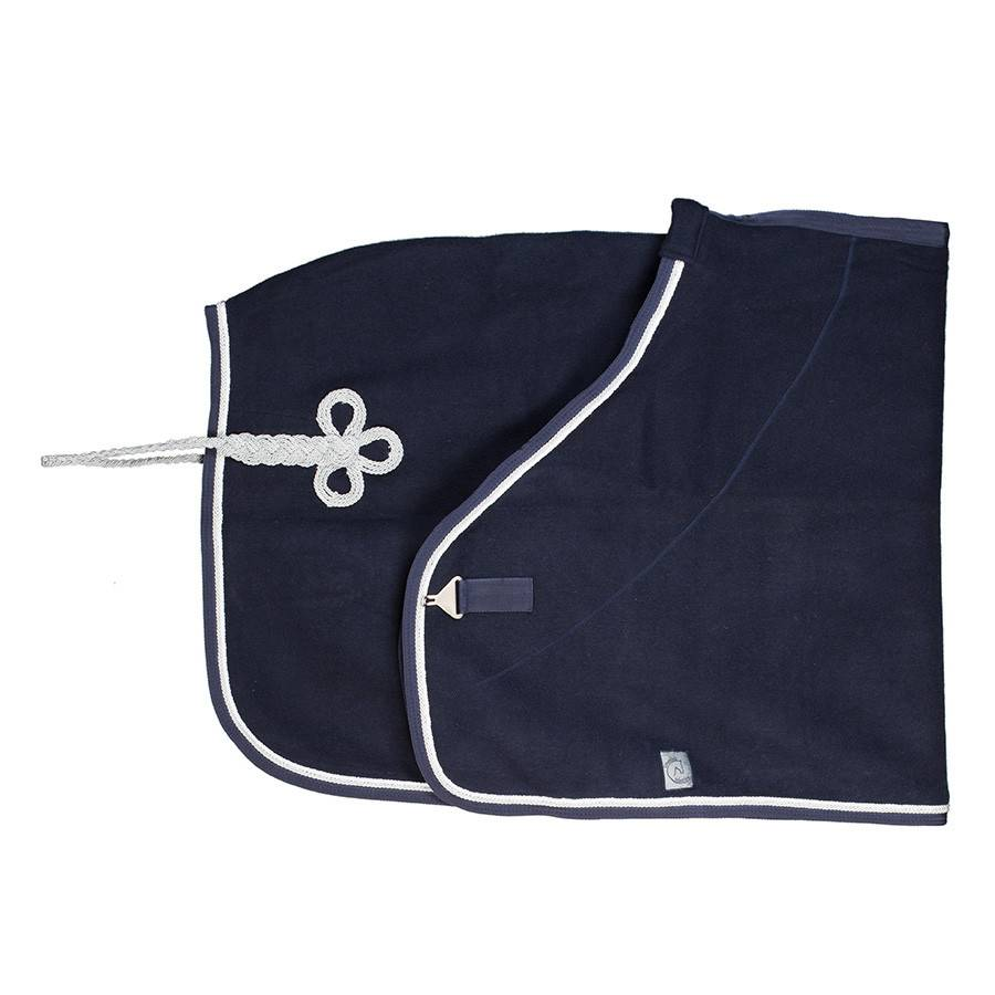 Greenfield Selection Woolen rug - navy/navy-white/silvergrey