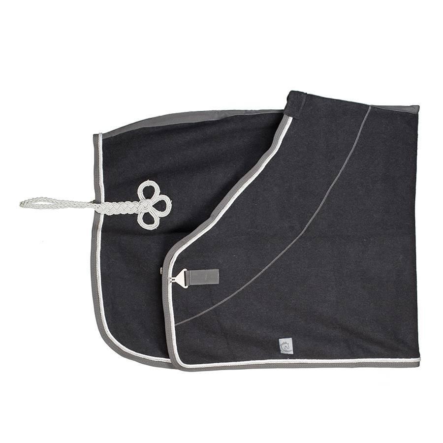 Greenfield Selection Couverture laine - gris/gris-blanc/gris argent