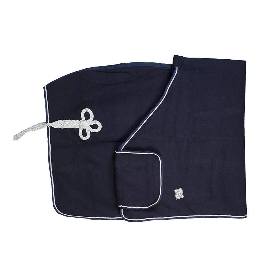 Greenfield Selection Couverture laine remise des prix - bleu marine/bleu marine-gris argent